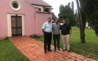 El Intendente de Berazategui, Patricio Mussi, visitó la Diócesis de Quilmes
