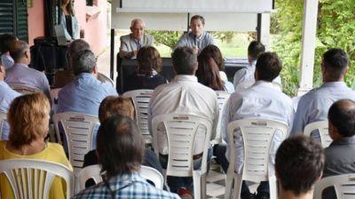 Gray encabezó reunión del Comité de Gestión de Laguna de Rocha