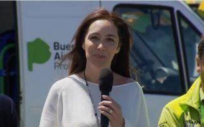 Vidal lanzó el SAME en 4 municipios peronistas:
