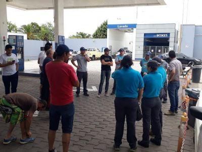 Conflicto laboral en la estación de servicio PAyS