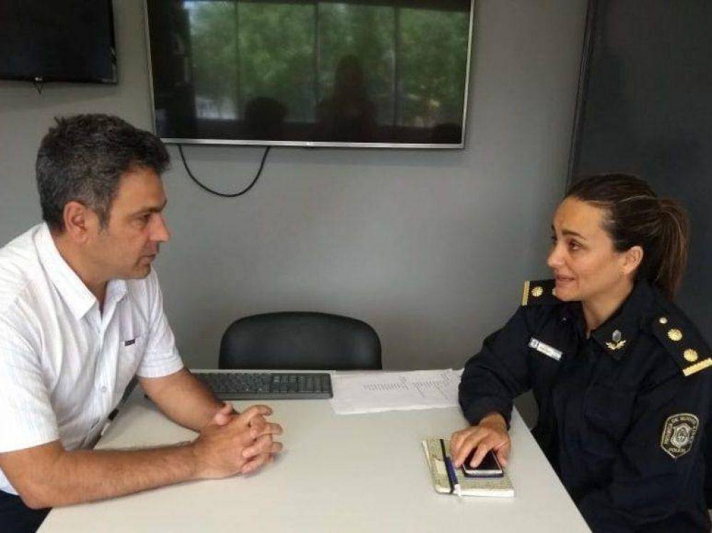Acciones conjuntas entre Protección Ciudadana y Comisaría de la Mujer