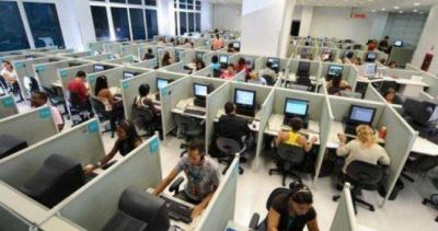 Gremio de Call Center se subió a quienes abrocharon 45% en paritarias