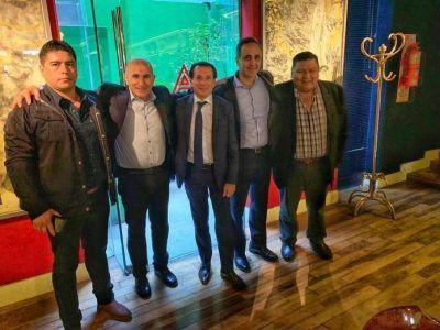 Ávila se reunió con Sica y Bulgheroni para potenciar Cerro Dragón