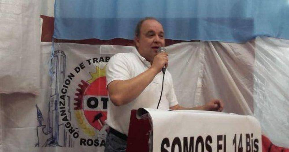 Grieta boina blanca: los trabajadores radicales se pronunciaron contra la reforma laboral