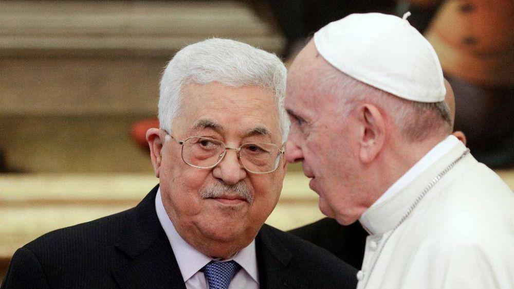 El Papa y Mahmoud Abbas: la Comunidad internacional debe sostener la paz
