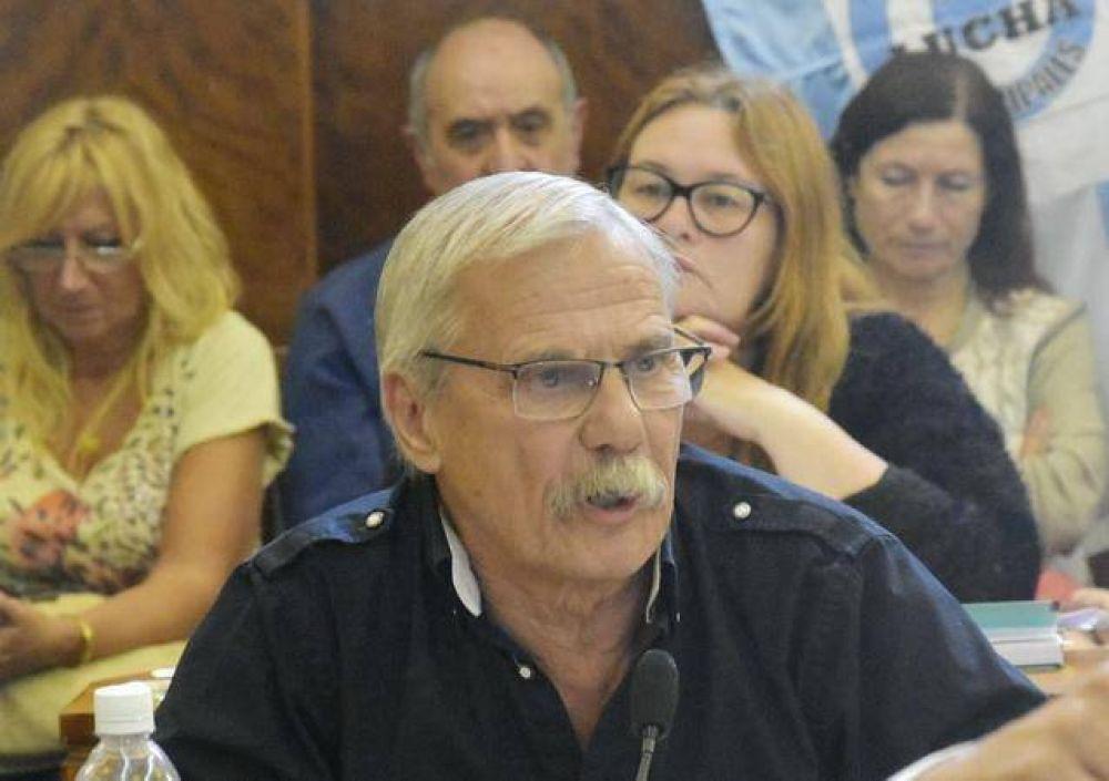 El concejal Daniel Rodríguez cargó todos sus dardos contra el Intendente Municipal