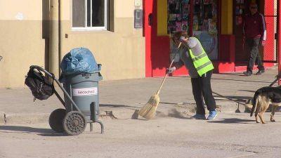 Servicios Públicos refuerza tareas de barrido, limpieza y reparaciones varias