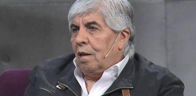"""Hugo Moyano contra el nuevo reglamento de Seguridad : """"La gente está saliendo a robar por hambre. ¿La solución es eliminarla?"""""""