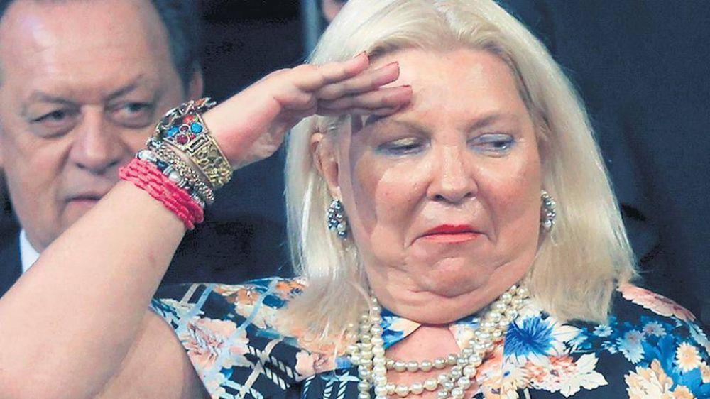 Carrió les disparó a Bullrich y a Macri