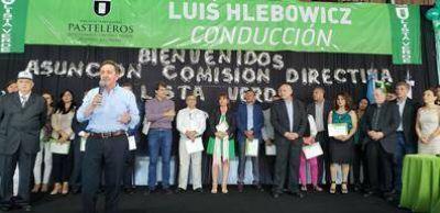 Pasteleros: Luis Hlebowicz asumió un nuevo mandato