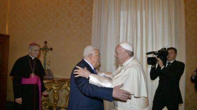 Papa-Abbas: relanzar el proceso de paz israelí-palestino