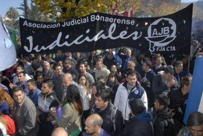 La Asociación Judicial Bonaerense rechazó la oferta de Vidal
