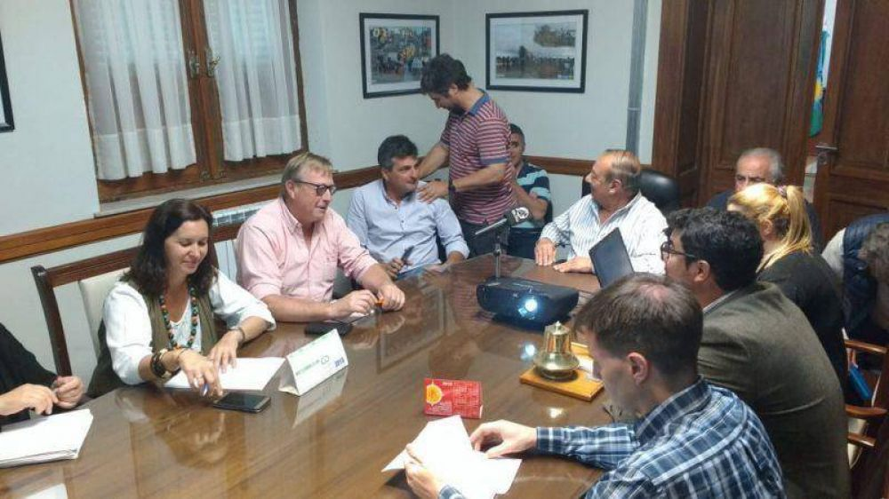 Sánchez presentó el proyecto de ampliación del Parque Industrial