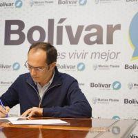 Marcos Pisano: 'Estaremos firmando lo que será la locación de jóvenes bolivarenses que estudien en La Plata'