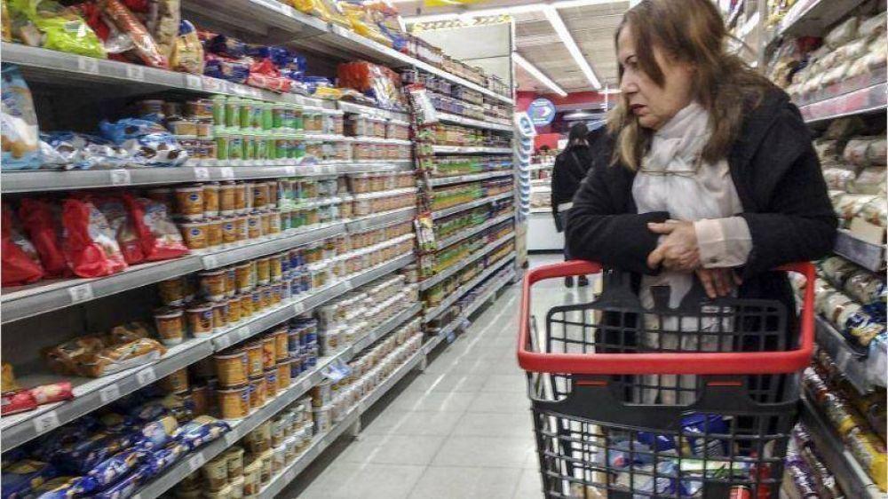 Supermercados afirman estar en riesgo por suba de costos y caída de ventas