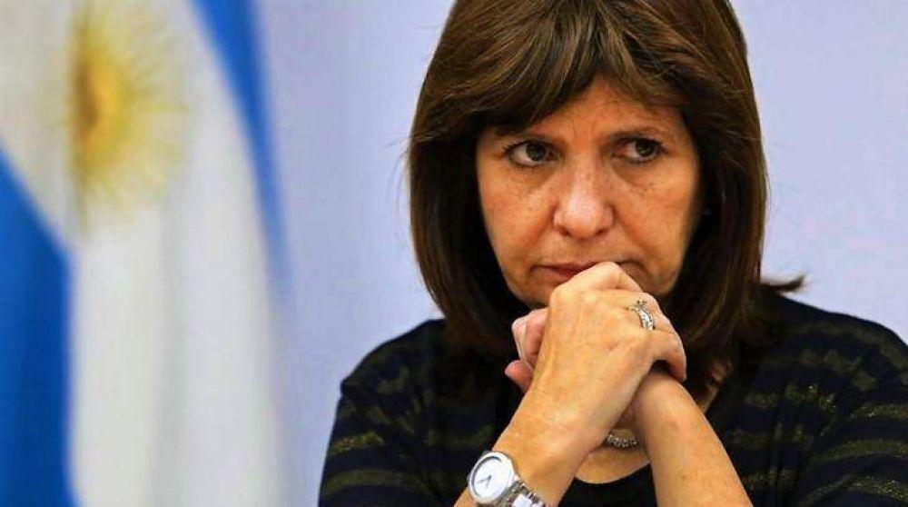 Con el aval de Macri, desafía Patricia a Carrió y acepta llevar el protocolo de seguridad al Congreso