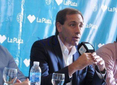El intendente de La Plata anunció una serie de medidas para beneficiar a Pymes y comercios