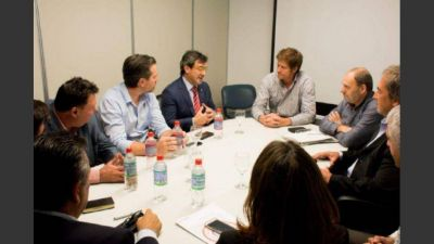 Vidal está a un paso de destrabar un viejo conflicto con la UIA por el impuesto al agua
