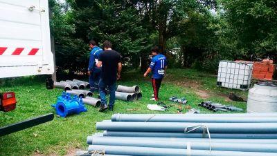 Mejoran la red de agua potable y para riego en el Valle de La Sala