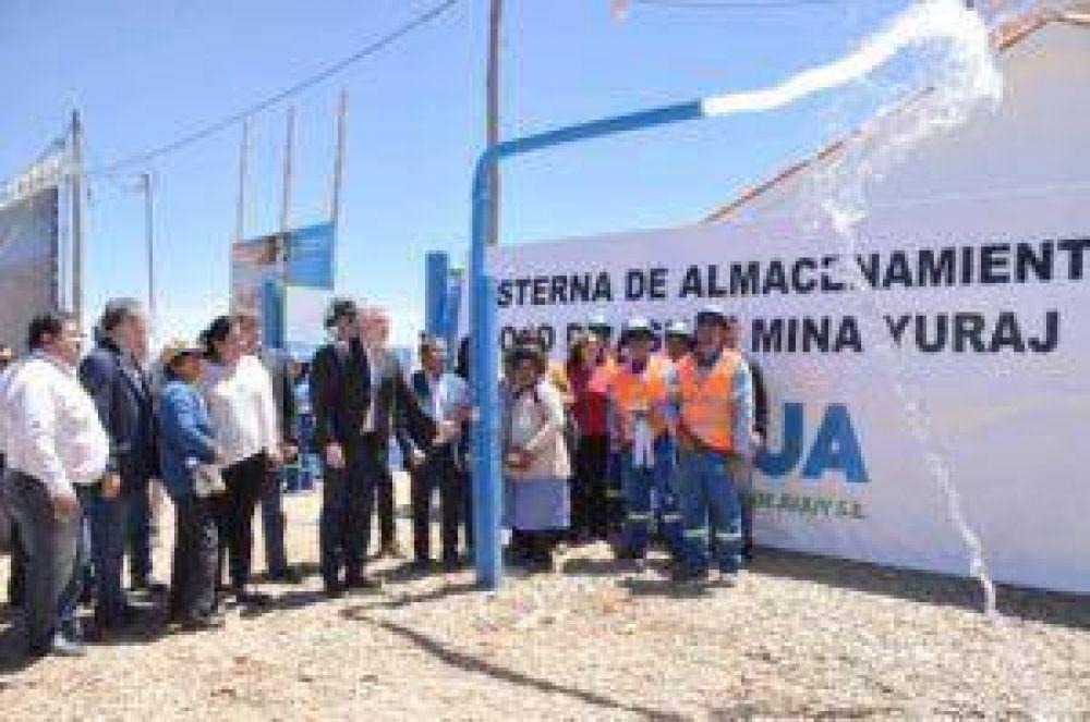 Inauguraron planta potabilizadora en La Quiaca
