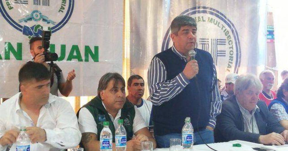 """""""Defendemos los derechos de los trabajadores, por eso Macri está obsesionado con vernos presos"""""""