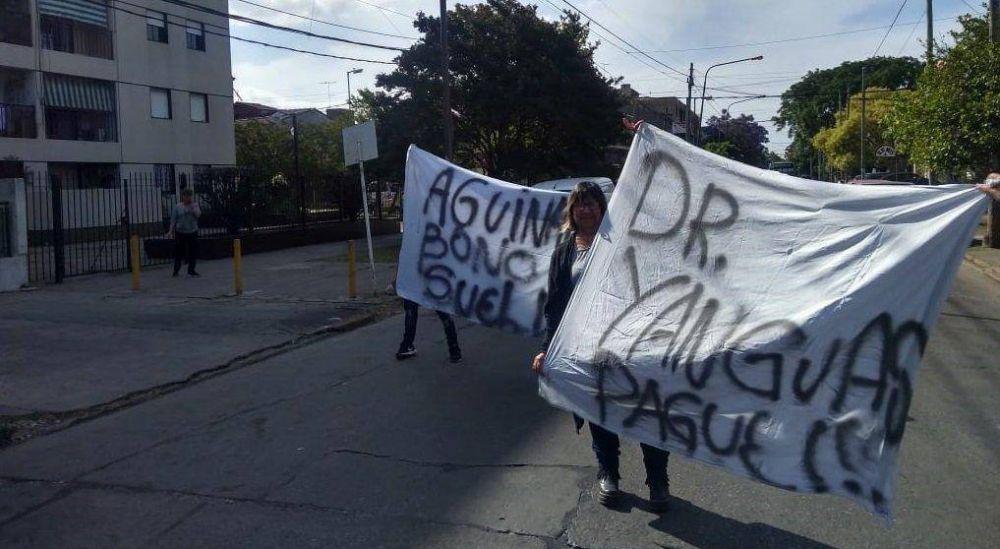 Sanatorio Urquiza de Quilmes: nuevo paro de los trabajadores por incumplimiento de pago y cientos de pacientes sin atención