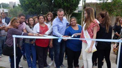 Un basural se convirtió en una hermosa plaza en Rivadavia