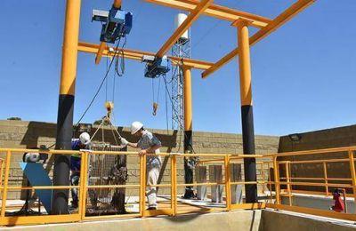 AYSA habilitó nueva Estación de Bombeo Cloacal Las Piedras Norte