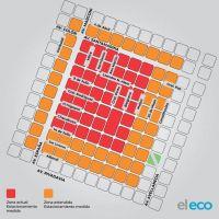 Así quedará la nueva zona de estacionamiento medido en Tandil