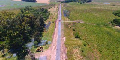Monte: Se ejecuta una importante obra contra inundaciones