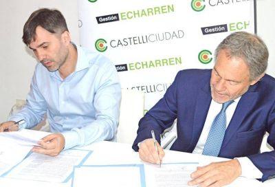 CASTELLI: Echarren firmó importantes convenios con el Ministro de Justicia bonaerense