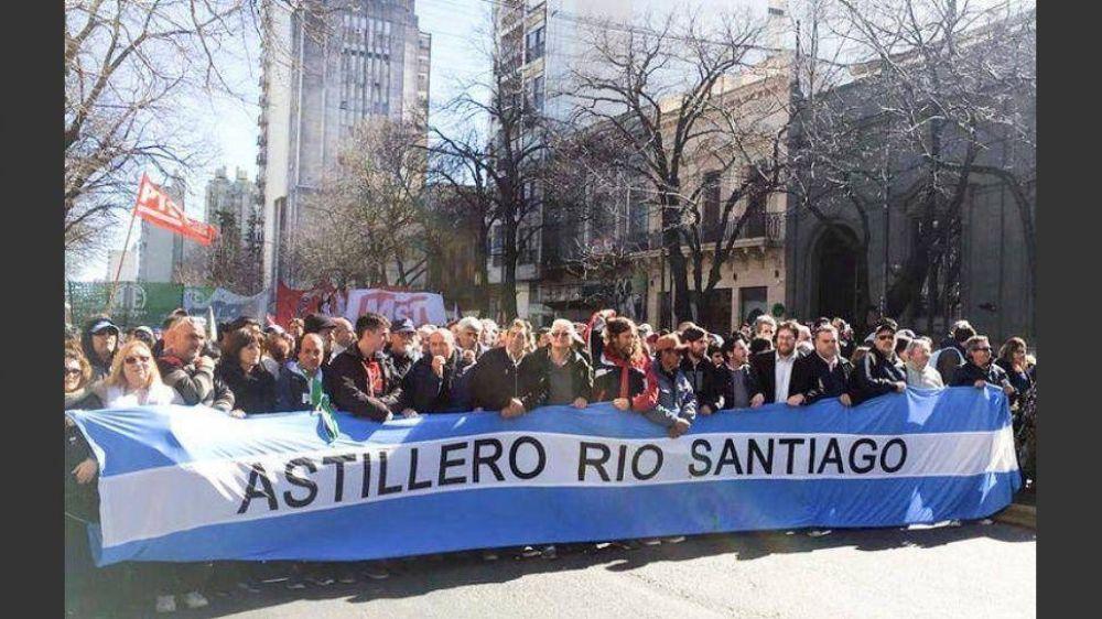 Trabajadores del Astillero Río Santiago cerraron paritarias