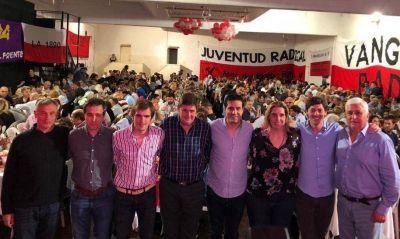 Mar del Plata: con lista de unidad, asumió el nuevo titular de la UCR
