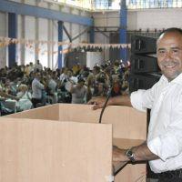 Daniel Díaz presidió multitudinaria celebración de los trabajadores de SITOS