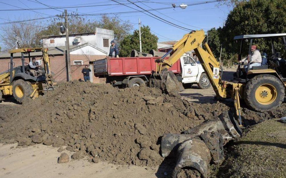 Con $60 millones en obras, la Provincia buscará mitigar inundaciones en la ciudad