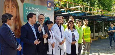 """Valenzuela sobre la Red AMBA: """"Un paso histórico en la salud de Tres de Febrero"""""""