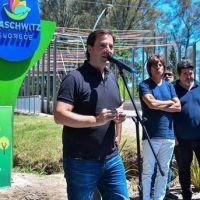 Sujarchuk inauguró en Maschwitz un recreo a orillas del Arroyo Escobar