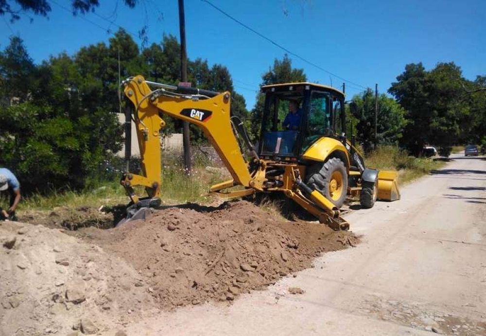Continúan los operativos de Obras Sanitarias para optimizar los servicios