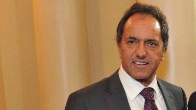 Peronismo: Scioli se anota para el 2019 y pidió reactivar la economía