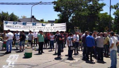 Provincia dictó la conciliación obligatoria por el paro de trabajadores municipales en La Plata