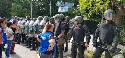 La CTA Autónoma y Conadu H repudiaron la represión que sufrió la UNRN