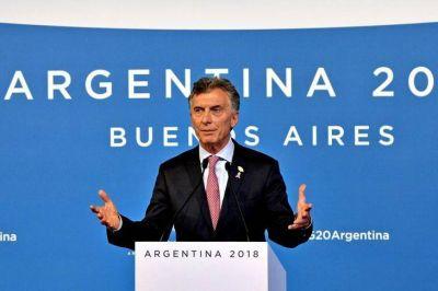 Oxígeno para Macri en las encuestas: impacto positivo del G20 en su imagen e intención de voto