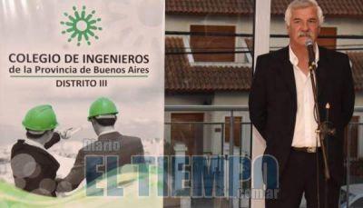 Daniel Palacios fue electo presidente del Distrito III del Colegio de Ingenieros