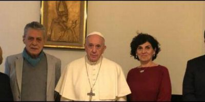 Líderes sociales latinoamericanos denuncian ante el Papa la