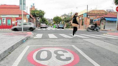 Proponen que la velocidad máxima sea de 30 km/h en ciertas calles