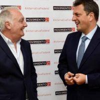 """Sergio Massa con mensaje de Lavagna y un """"think tank"""" porteño"""