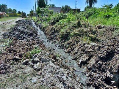 Vecinos del Jardín insisten con pedidos de obras pluviales