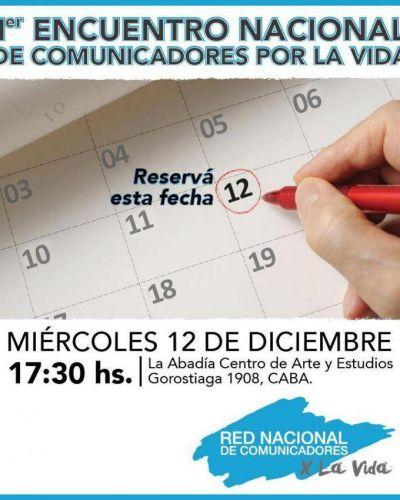 Comunicadores por la Vida tendrán su primer encuentro nacional