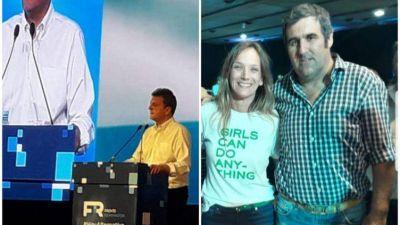 El Frente Renovador Tandil en el acto de Sergio Massa