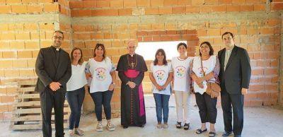 """El Obispo Malfa entregó 200.000 pesos para el Merendero """"San Juan Bautista"""""""